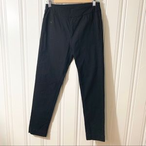 Soft Surroundings Black Stretch Pull On Ankle Pant